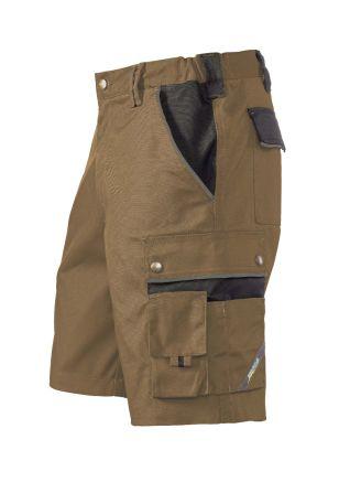 Hr. Shorts 1454 khaki/schwarz