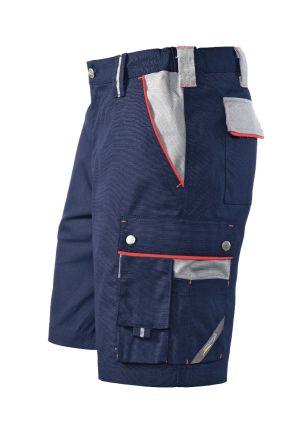 Hr. Shorts 1454 marine/grau