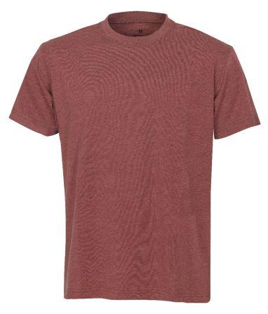 °T-Shirt 7010 rot meliert