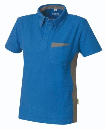 Poloshirt Express B1 blau/grau