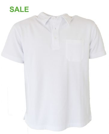 °°Hr. Polo-Shirt SALE ALBIRO weiss