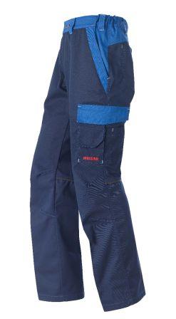 Arbeitshose Nufenen marine/blau