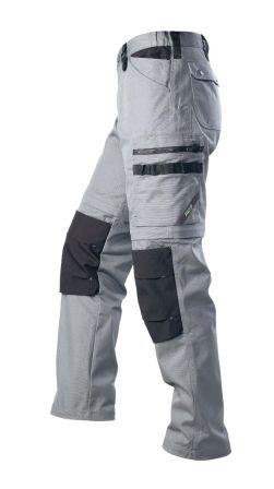 Hr. Arbeitshose 2in1 1401 grau/schwarz
