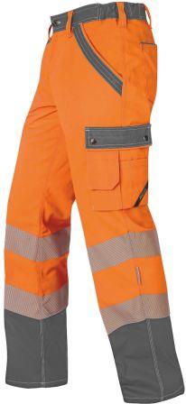 Hr. Sommerhose ISO20471 1230 orange/gr.