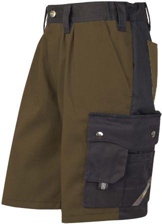 Hr. Shorts 1168 braun/schwarz