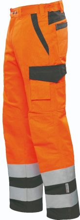 Sommerhose Express WT orange/anthrazit