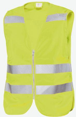 Hr. Warnweste RV und DK ISO20471 gelb