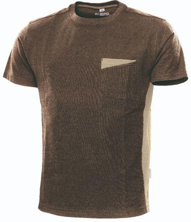 T-Shirt Express B1 braun/sand