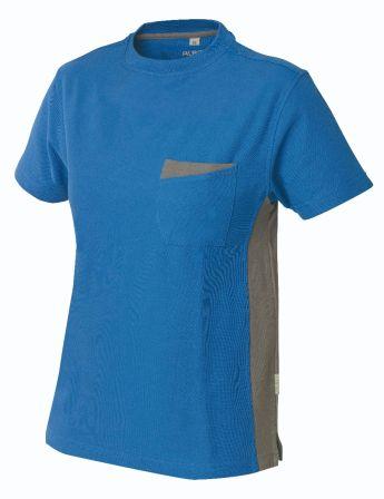 T-Shirt Express B1 blau/grau