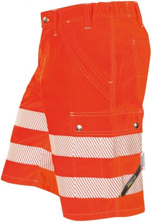 °Hr. Shorts ISO20471 1243 rot