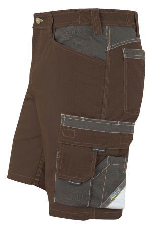 Hr. Shorts 1626 braun/anthrazit