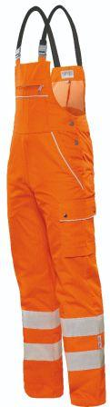 °Hr. Latzhose Warntec orange