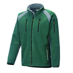 Fleece Jacke 8765 oliv/grau