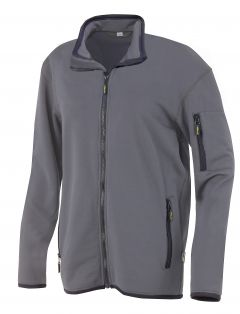 Hr. Powerstretch Jacke 8741 anthrazit