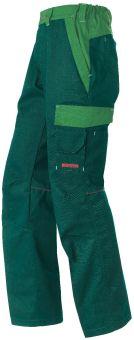 Arbeitshose Malans grün/hellgrün