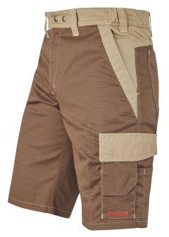 Shorts Nyon braun/beige