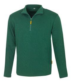 Zip-Sweatshirt Martigny grün