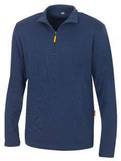 Zip-Sweatshirt Martigny marine