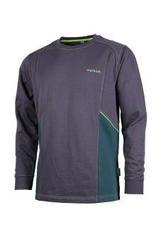 Sweatshirt Göschenen anthr/d'grün/h'grün