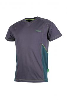 T-Shirt Grindelwald anthr/d'grün/h'grün