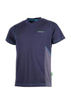 T-Shirt Grindelwald marine/anthr/türkis