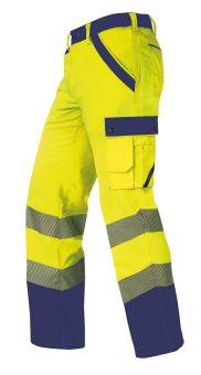 Hr. Sommerhose ISO20471 1230 gelb/mari.