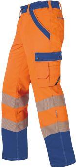 Hr. Sommerhose ISO20471 1230 orange/bl.
