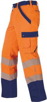 Hr.Sommerhose ISO20471 1230 orange/mar.