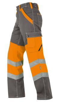 Hr.Arbeitshose ISO20471 1231 grau/oran.