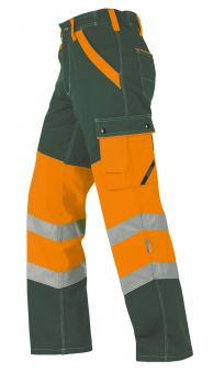 Hr Arbeitshose ISO20471 1231 oliv/oran.