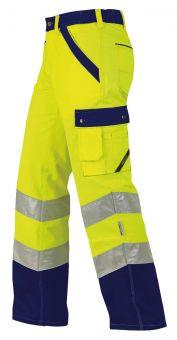 Arbeitshose ISO20471 1232 gelb/marine