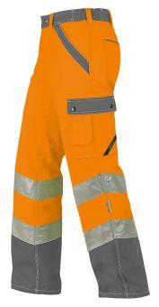 Hr.Arbeitshose ISO20471 1232 oran./grau