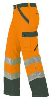 Hr.Arbeitshose ISO20471 1232 oran./oliv