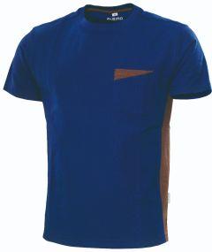 °T-Shirt Express B1 marine/braun
