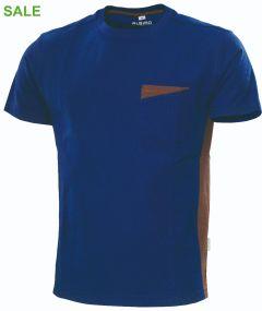 °°T-Shirt Express B1 marine/braun