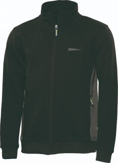Sweatjacke Express schwarz/anthr.