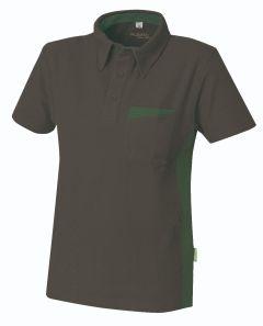 Poloshirt Express B1 anthrazit/oliv