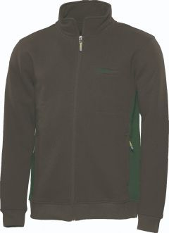 Sweatjacke Express anthrazit/oliv