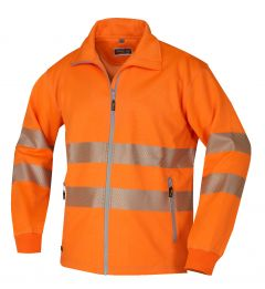 Hr. Sweatjacke ISO20471 1331 orange