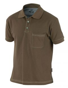 Hr. Polo-Shirt 1485 braun