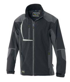 °Softshell Jacke 8510 schwarz/anthr.