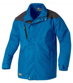 Wattierte Jacke 8620 blau/anthrazit