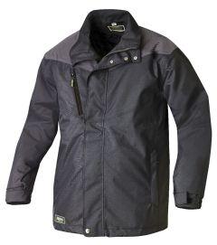 Wattierte Jacke 8620 schwarz/anthrazit