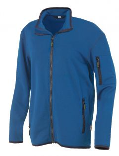 Hr. Powerstretch Jacke 8741 blau