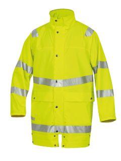 Hr. Regenjacke ISO20471/EN343 9362 gelb