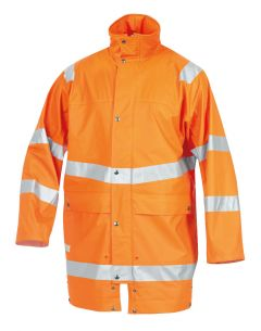 Hr.Regenjacke ISO20471/EN343 9362 orange