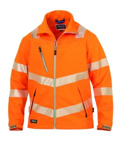 Hr. Softshell ISO 20471 9632 orange