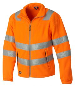 Hr. Fleece-Jacke ISO20471 9685 orange
